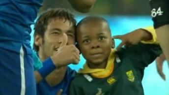 Neymar y niño
