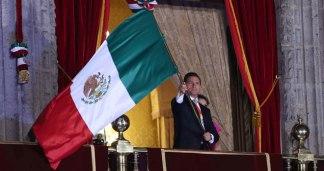 Nuestro flamante presidente y su (desangelado) grito de Independencia