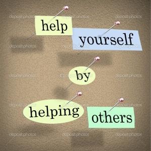 Ayúdate a ti ayudando a otros
