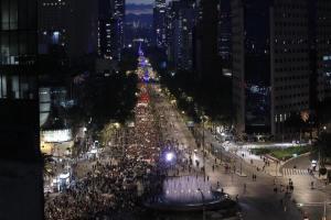 Contingente de la marcha del #5deNoviembre