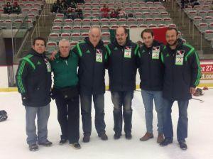 Coaching staff - Selección Femenil Mexicana de hockey sobre hielo